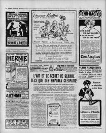 Petit Journal - exemple de publicité